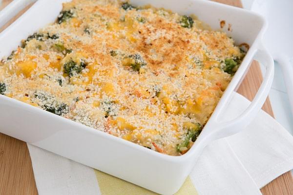 Broccoli Cheddar Brown Rice Casserole Recipe