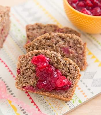 Leftover Cranberry Sauce Bread Recipe