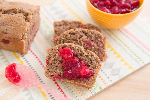 Leftover Cranberry Sauce Bread Recipe