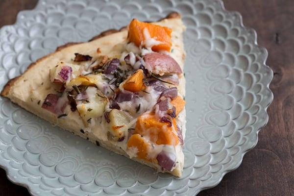 Winter Vegetable Pizza