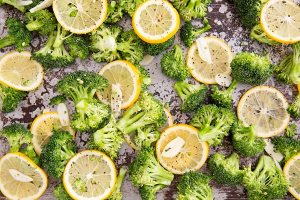 Broccoli with Meyer Lemons & Garlic