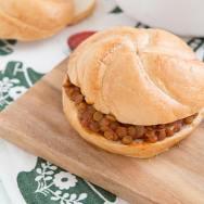 Sloppy Lentil Sandwich Recipe