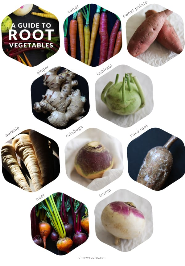A Guide To Root Vegetables For Vegetarian Cooks From Oh My Veggies