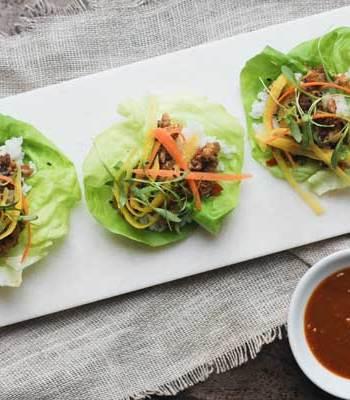 Make it Meatless: Lettuce Wraps