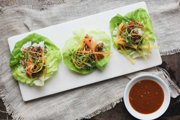 Make it Meatless: Lettuce Wraps