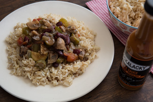 Slow Cooker Vegetarian Gumbo Recipe