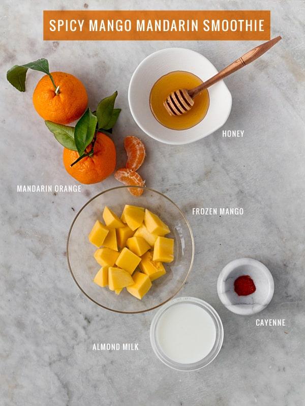 Spicy Mango Mandarin Smoothie