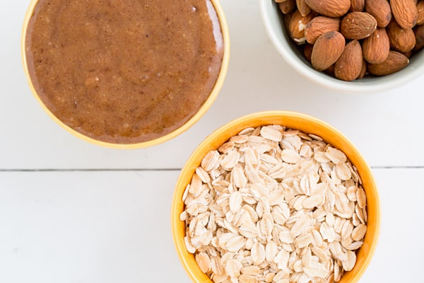 Salted Caramel Granola Bar Ingredients