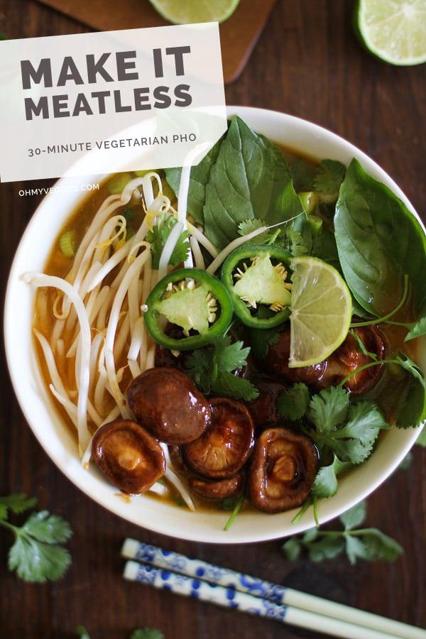 30-Minute Vegetarian Pho