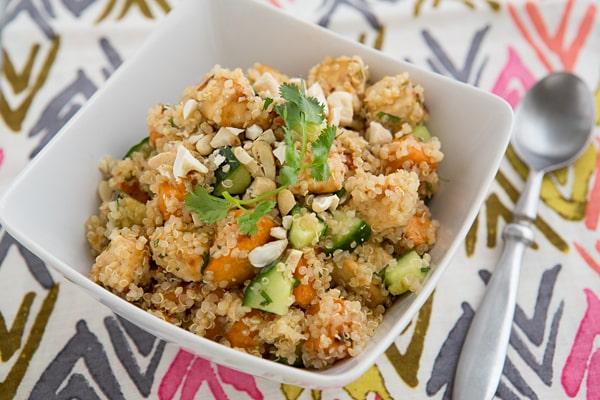 Miso Roasted Veggie Tofu Bowl