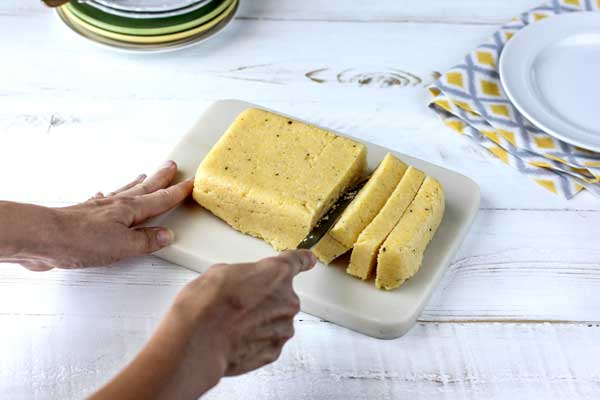 how to make polenta tortillas