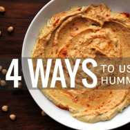 4 Ways to Use Hummus