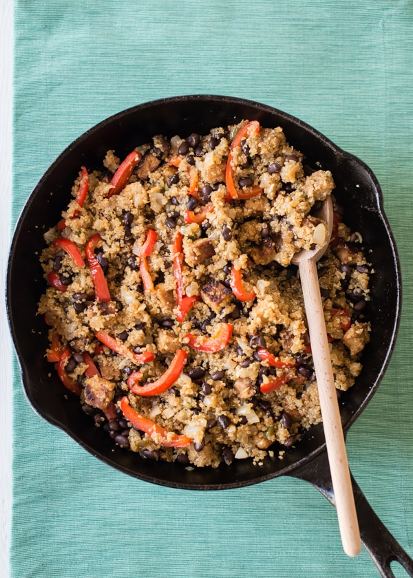Cuban Fried Quinoa