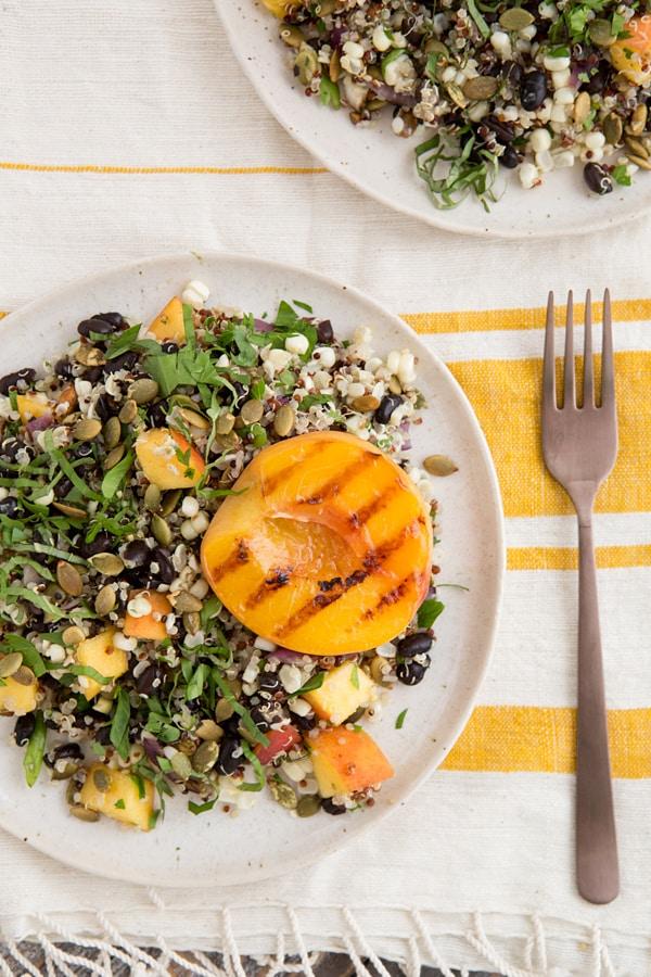 Fiery Fruit & Quinoa Salad
