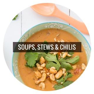 Vegetarian Soup, Stew & Chili Recipes