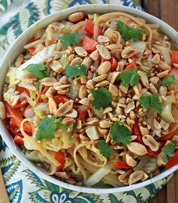 One-Pot Sesame Noodles & Veggies