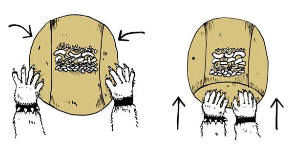 Wrapping Burrito