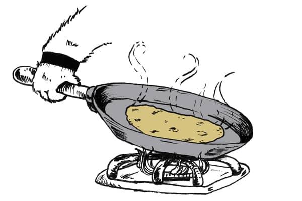 Heat the Tortilla