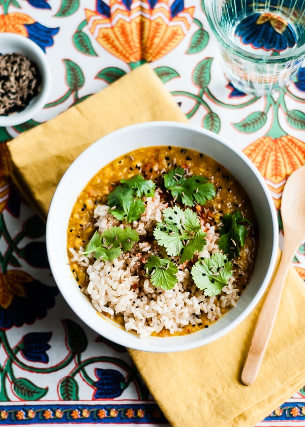 Red Lentil Dal from Cafe Johnsonia