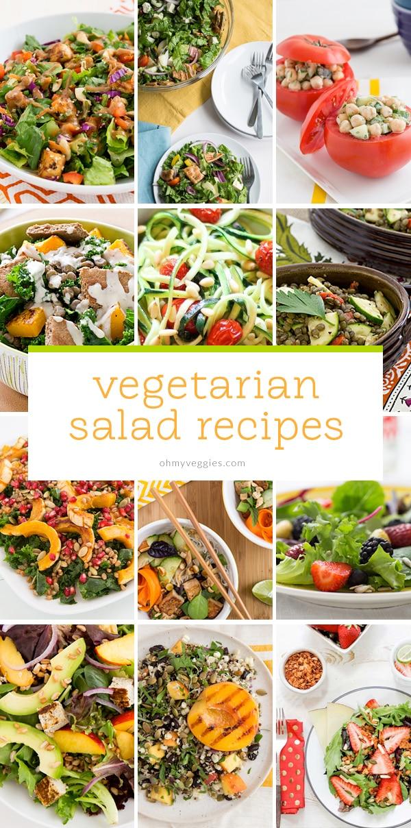 Vegetarian Salad Recipes