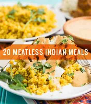 20 Meatless Indian Meals