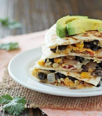 Make-Ahead Breakfast Quesadillas