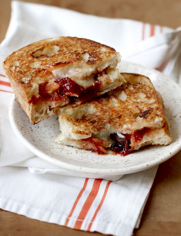 Brie & Jam Grilled Cheese