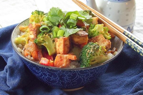 Broccoli Pepper Stir Fry