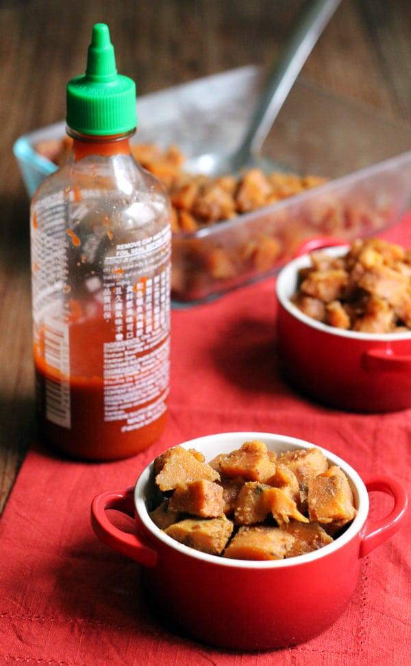 five spice sriracha sweet potatoes 1