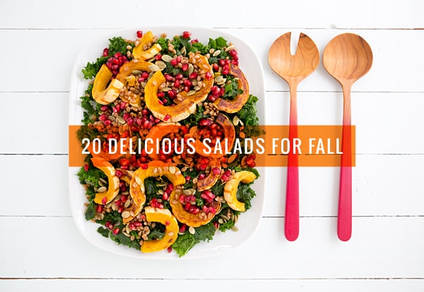 20 Delicious Salads for Fall