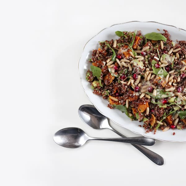 Sweet Potato Salad with Quinoa
