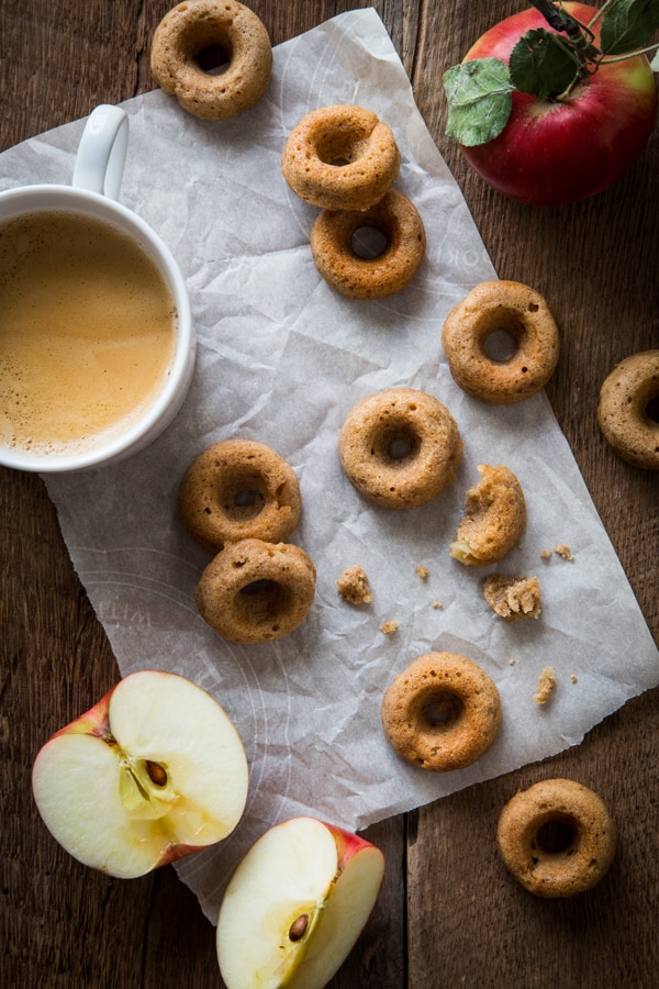 Chai-Spiced Apple Cider Donuts