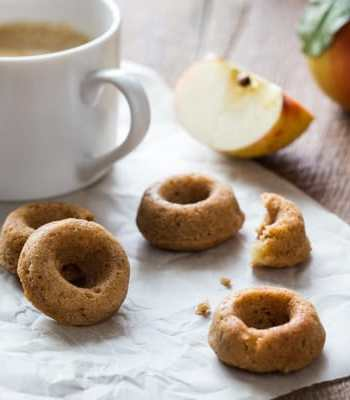 Vegan Chai-Spiced Apple Cider Doughnuts Recipe