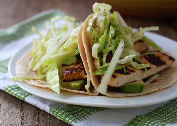 Grilled Tofu Tacos