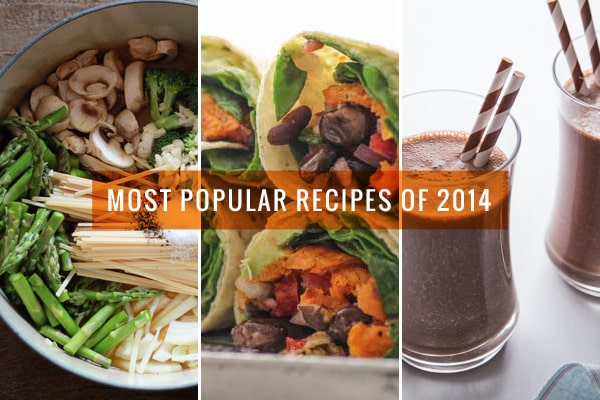 Oh My Veggies Most Popular Recipes of 2014
