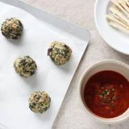 Eggplant Spinach Meatballs