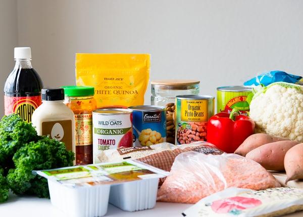 Healthy Dinner System Ingredients