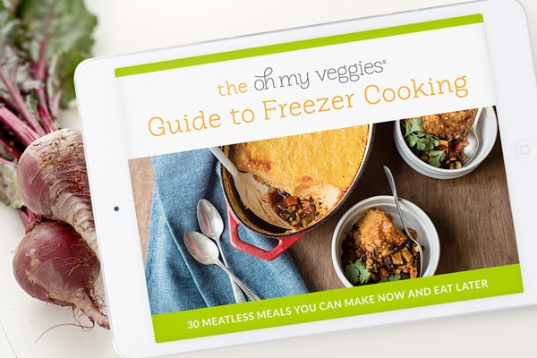 The Oh My Veggies Guide to Freezer Cooking