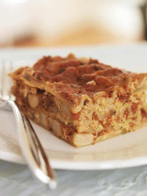 Slow Cooker Protein-Packed Pumpkin Lasagna