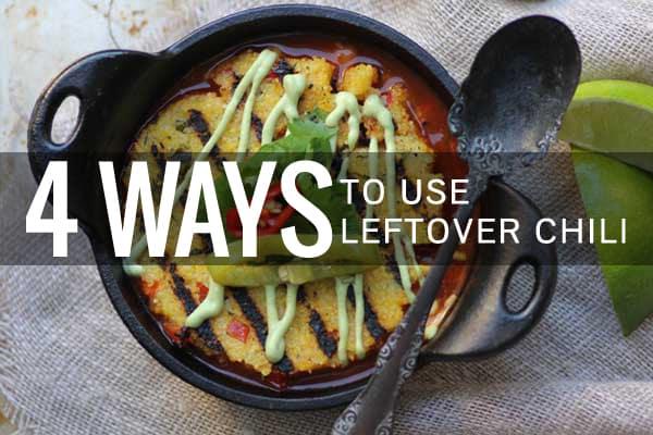 4 Ways to Use Leftover Chili