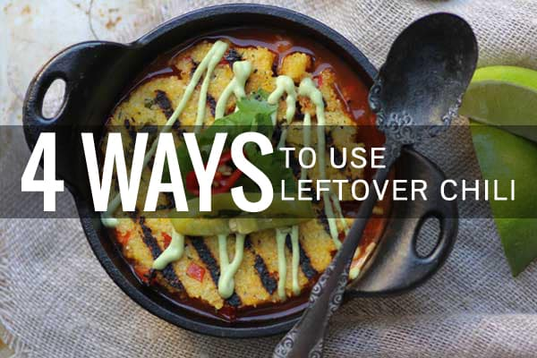 4 Ways to Use Leftover Chili