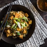 Mee Goreng with Tofu and Bok Choy