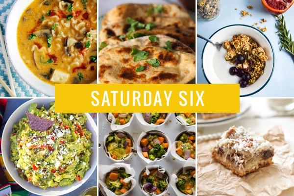 Saturday Six - 03.21.15