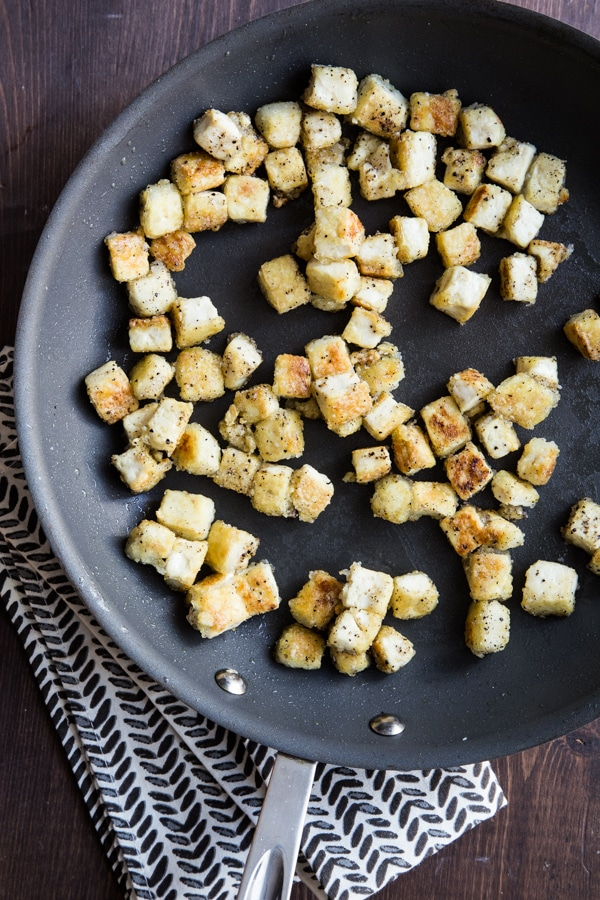 Tofu for Mee Goreng