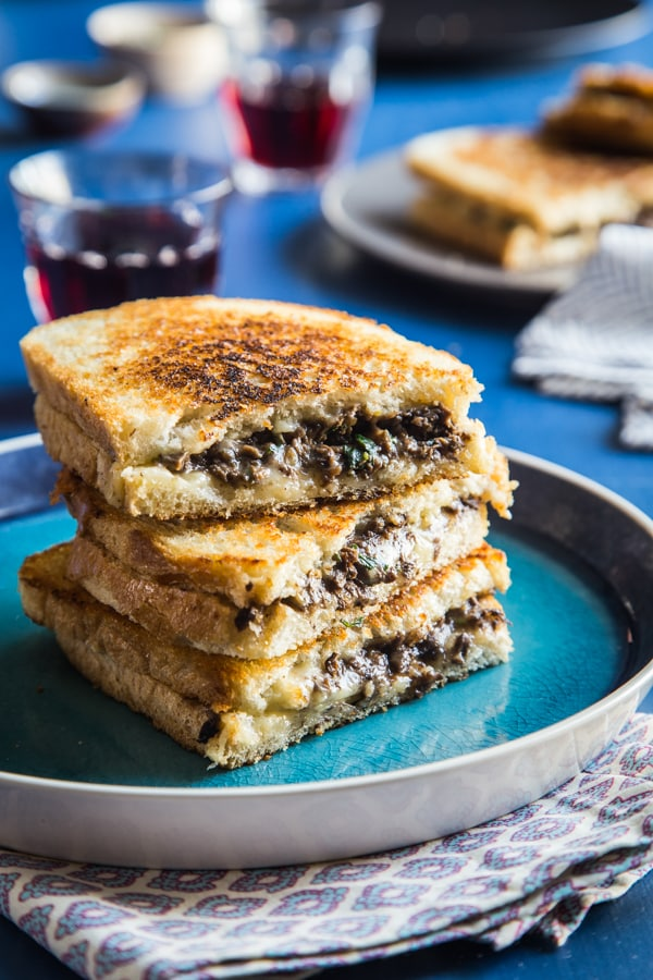 Duxelles Grilled Cheese