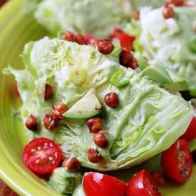 Green Goddess Wedge Salad
