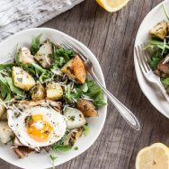 Herb-Roasted Potatoes with Egg
