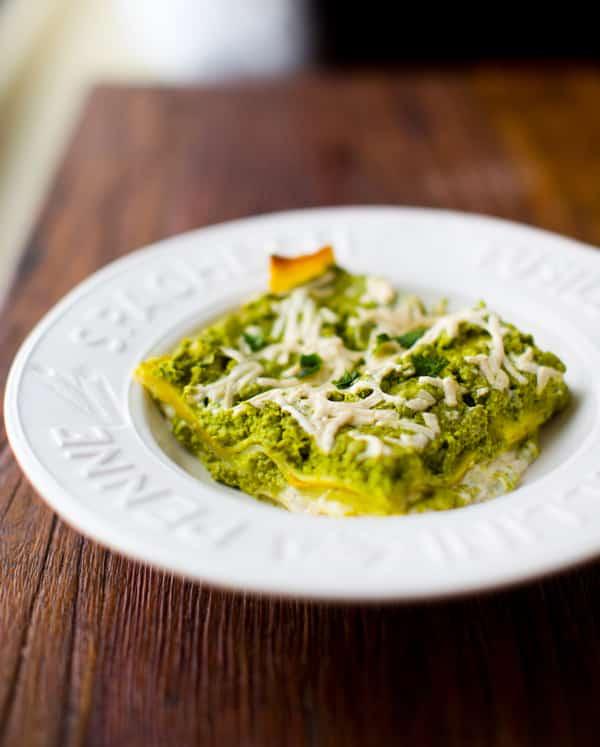 Lasagna Verde from Healthy Happy Vegan Kitchen