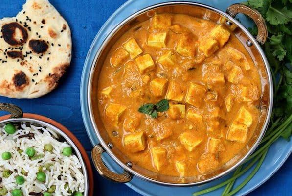 Mango Curry Tofu from Vegan Richa's Indian Kitchen