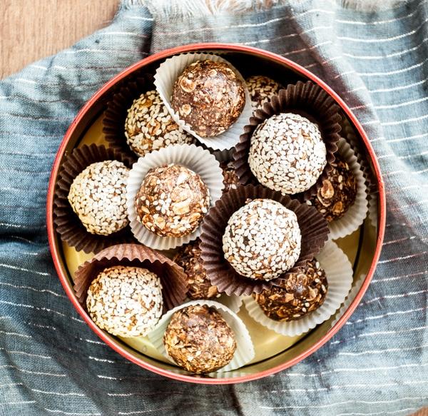chocolate-tahini-bites